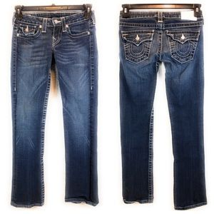 True Religion Jeans With Rhinestone Buttons